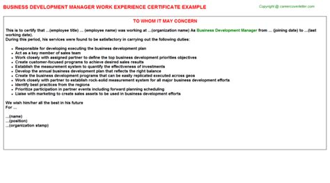 Experience Letter Green Card How To Write A Letter To Hr Manager For Experience Letter Hr Compensation And Benefits Manager