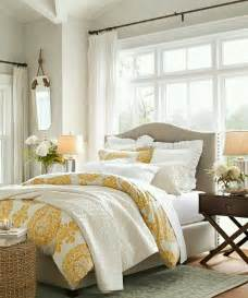 Bright Guest Bedroom Ideas Taupe And Yellow Bedroom With Bright Windows This Would