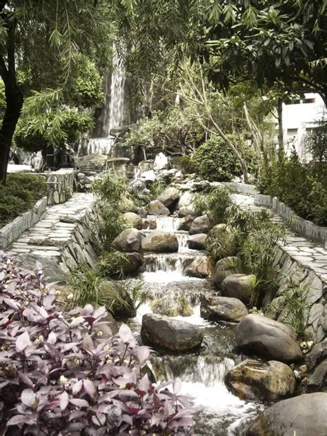 backyard waterfalls ideas 50 pictures of backyard garden waterfalls ideas designs