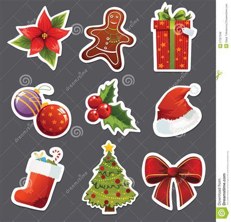 Aufkleber Weihnachten Kostenlos by Stickers Stock Vector Illustration Of Ribbon