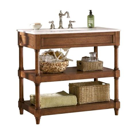 open bathroom vanity cabinet home decorators collection montaigne 37 in w x 22 in d
