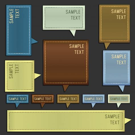 templates for text boxes templates for text boxes vector free download