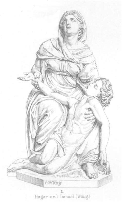 God Cares For Hagar And Ishmael Crafts Hagar And Ishmael Coloring Page