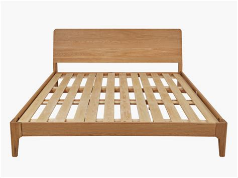 Wooden Bed Frame Beaumont Wooden Bed Frame Unfinished Wood Bed Frame