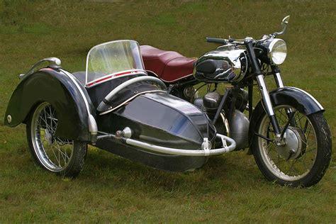 Motorrad Mit Beiwagen In Kurven by Victoria V 35 Bergmeister