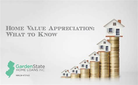 home value appreciation what to garden state home