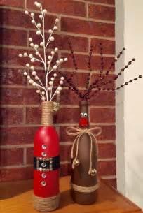 best 25 christmas wine bottles ideas on pinterest