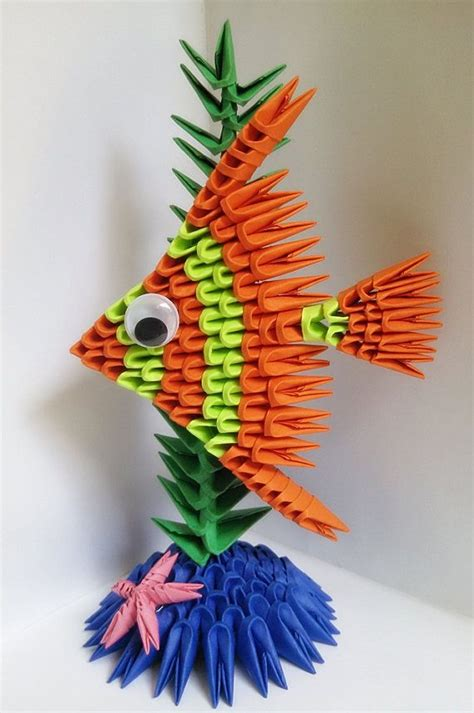 Origami Fish 3d - 17 best ideas about origami fish on origami
