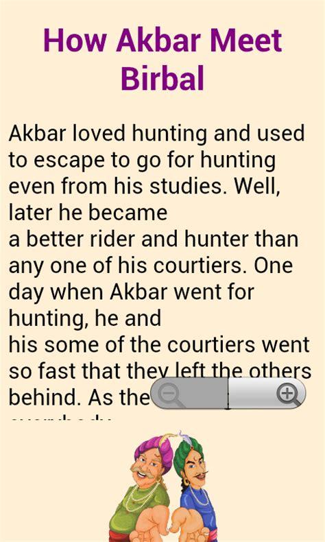 Stories In by Free Akbar Birbal Stories Storie Apk