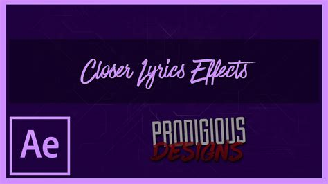 tutorial after effects lyric video after effects tutorial the chainsmokers closer ft