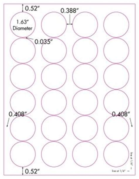 clear printable label sheets glossy clear printable labels 50 sheets 1 5 8 inch round 4260c