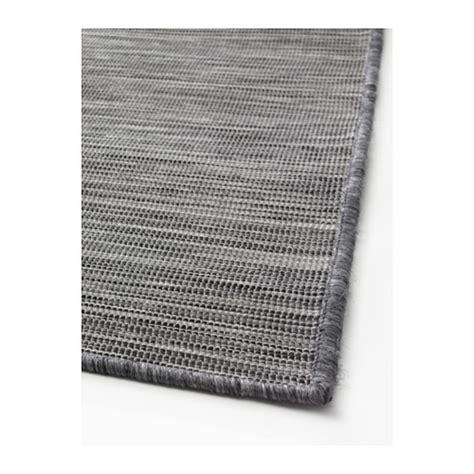 ikea grey rug hodde rug flatwoven in outdoor grey black 200x300 cm ikea