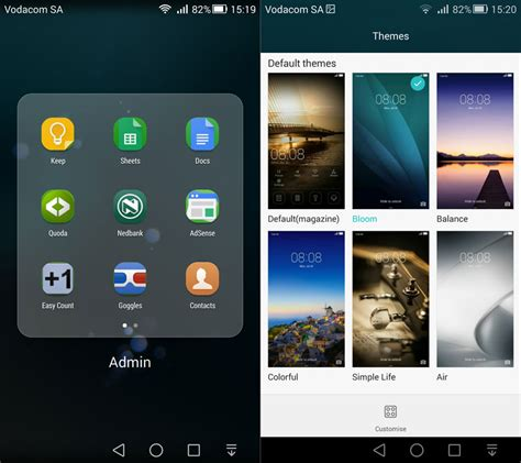 huawei themes editor huawei ascend mate 7 interface impressions vodacom community