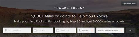 emirates rocketmiles good deal earn 5 000 miles when you book your first