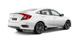 Honda Civic 2016 Honda Civic Black Pack Option Revealed