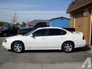2003 Chevrolet Impala Ls 2003 Chevrolet Impala Ls For Sale In Muncie Indiana
