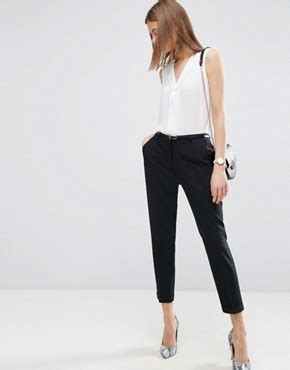 Asos Tailored Slim Trouser cigarette trousers tailored trousers asos