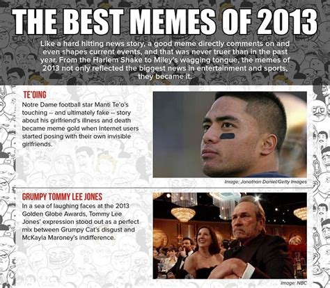 Best Memes Of 2013 - infographic the best internet memes of 2013 designtaxi com