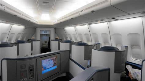 Delta 747 Interior by Delta Airlines B747 400 Business Class Trip Report Nrt Hnl