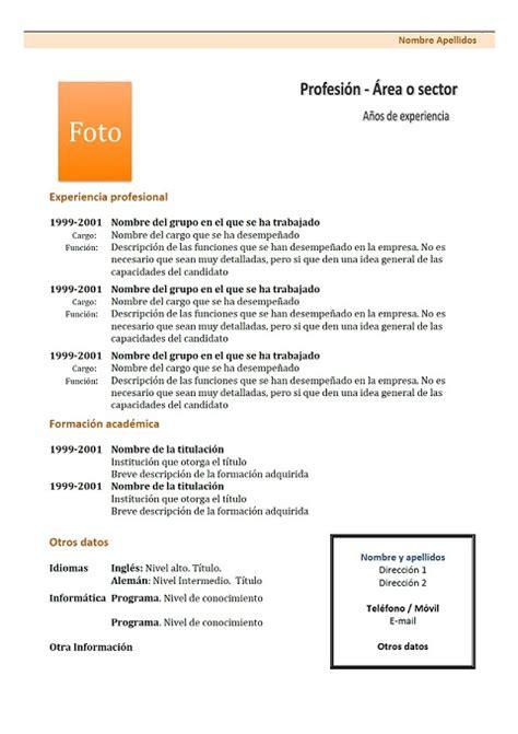 Modèle Présentation Cv by Resume Format Modele De Curriculum Vitae Canadien