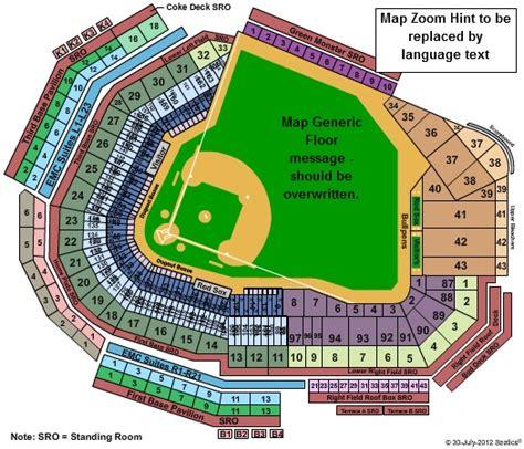 fenway park seating views fenway park tickets in boston massachusetts fenway park