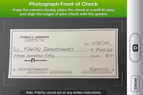 Pnc Background Check Appshopper Fidelity Investments Adds Check Deposit Capability To Iphone App