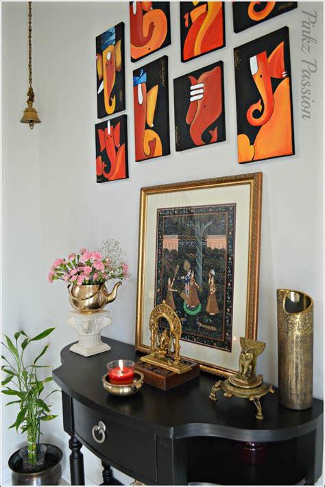swing ganesha spring decor front foyer indian decor