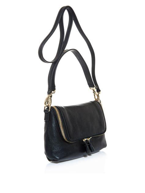 Anya Hindmarch Need Bags by Anya Hindmarch Maxi Zip Crossbody Bag In Black Lyst