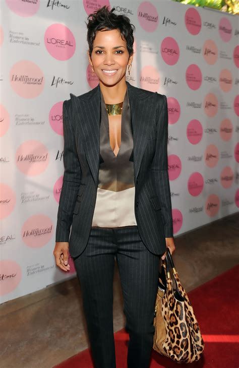 Style Halle Berry by Halle Berry Pantsuit Halle Berry Looks Stylebistro