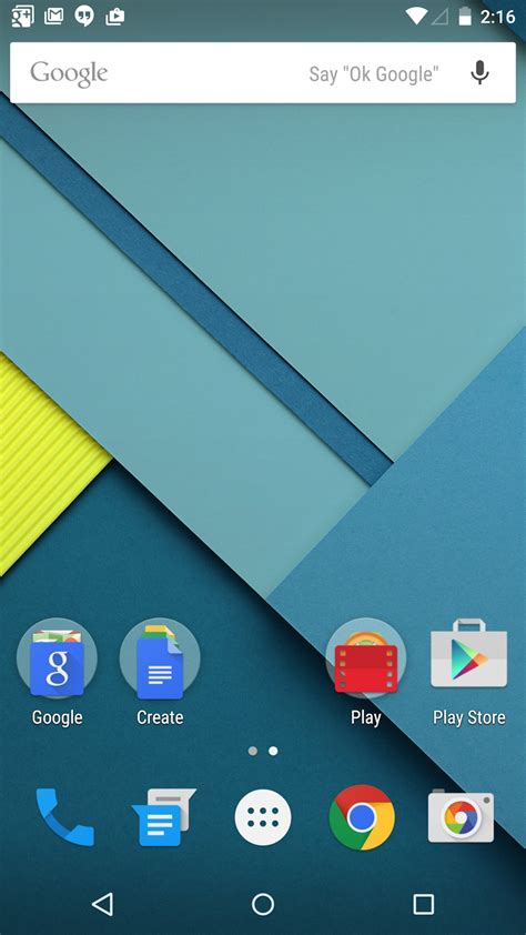 android home screen 15 android lollipop features sej