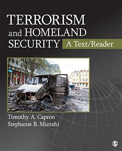 terrorism and homeland security isbn 9781412997126 terrorism and homeland security a