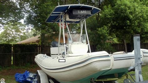 used inflatable boats for sale in florida 2003 used nautica rib 20 cat inflatable boat for sale