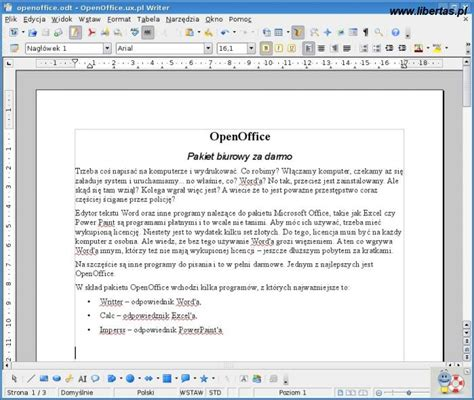 Open Office Writer by Repercabdjo Open Office Writer
