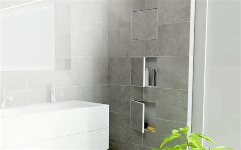 niche in bathroom wall wall niches container box series space saving solutions