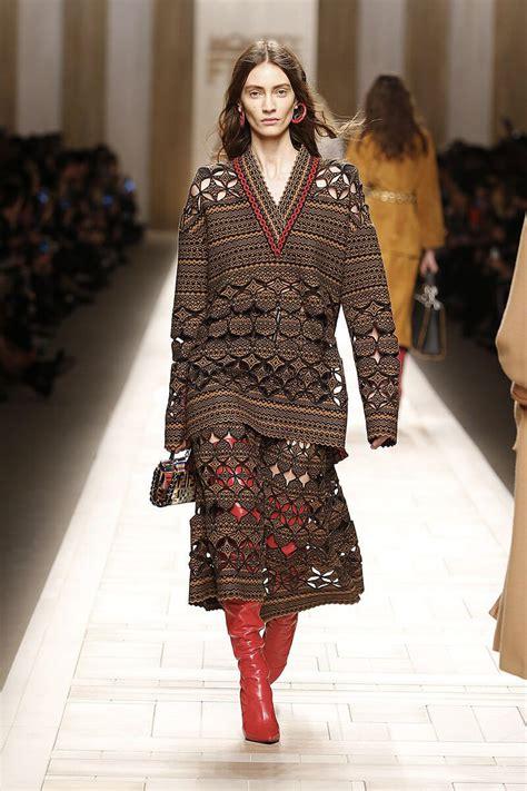 fendi fallwinter  collection fashion trendsetter