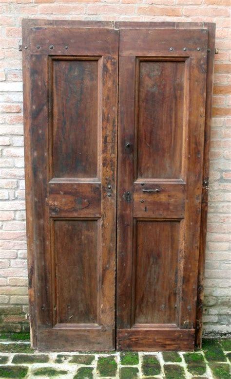 porte antiche porte antiche a 2 ante in rovere 700 cm210x110 una