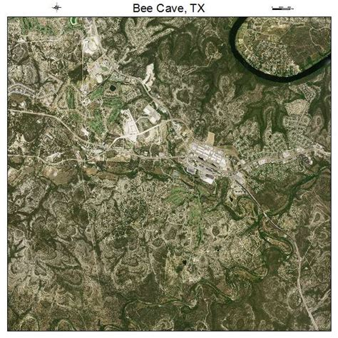 texas caves map aerial photography map of bee cave tx texas