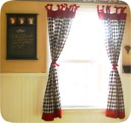 Retro kitchen curtains with bows cthuliz