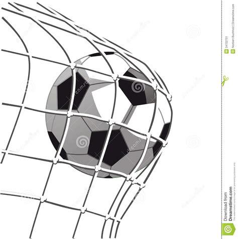 Soccer Goal White goal clipart black and white