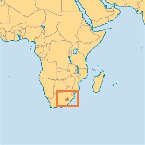 lesotho map map of lesotho kingdom of lesotho maps mapsof net