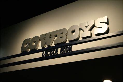 Dallas Locker Room by Dallas Cowboys Football Stadium Tour