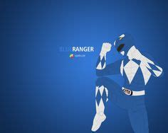 Poster Blue Ranger Hiasan Dinding toys poster and clothes on