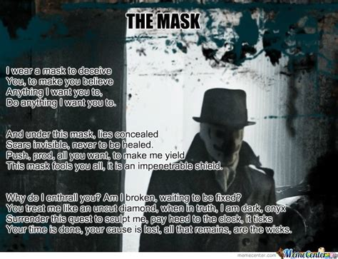 The Mask Meme - the mask by maskedslayer meme center