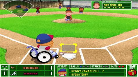 backyard baseball 2001 backyard baseball 2001 orioles vs braves commentary over