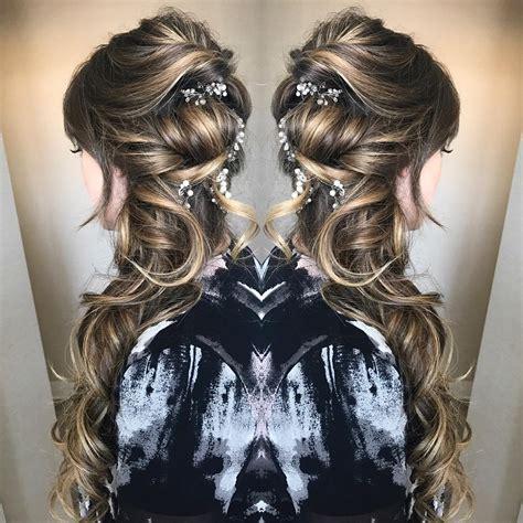 Wedding Hairstyles With Gypsophila by 10 Lavish Wedding Hairstyles For Hair Wedding