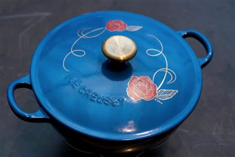 le creuset disney loving the le creuset beauty and the beast soup pot from