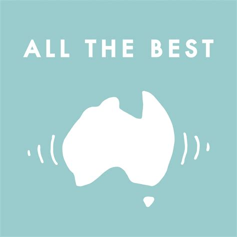 all the best all the best australian audio guide