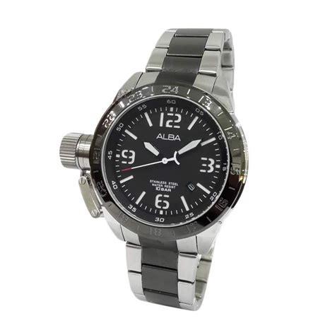Jam Tangan Alba Al 01 jual jam tangan pria alba axhk25x1 harga