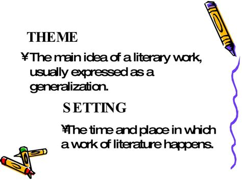 what does theme mean in a story elements of a short story