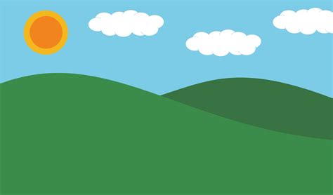 Clipart - Landscape Microsoft Garden Clipart